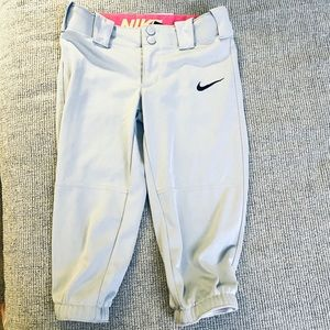 - Nike S gray joggers girls or boys athletic 5